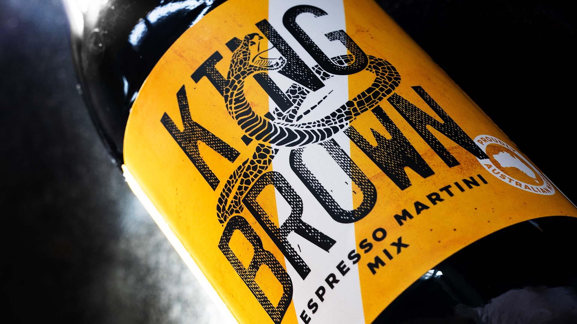King Brown Espresso Martini Mix